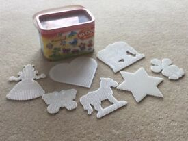 10,000 Hama Beads and 7 design Cards in excellent condition
