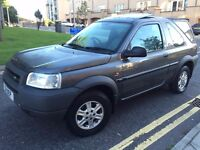 LOW MILES 02 FREELANDER 4X4, MOT MARCH 2017, PRIVATE PLATE INCLUDED