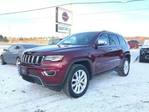 2017 Jeep Grand Cherokee LIMITED LUXURY GROUP II 4WD