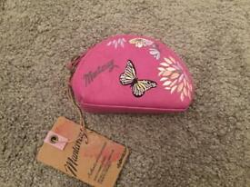 Pink Butterfly Mantaray Purse