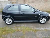 Vauxhall corsa sxi 2006 black low mileage alloys new mot cheap bargain