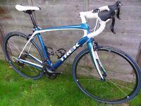 Trek Domane 4.3 carbon road racing bike £2300 with upgrades, immaculate, Shimano Ultegra 105 Madone