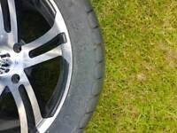 Quad road wheels
