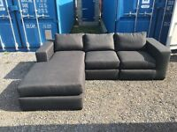 MADE-COM VITTORIO LEFT HAND FACING CORNER SOFA - RRP £949