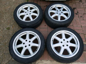 """18"""" 5X112 GENUINE AUDI A8 ALLOY WHEELS VW AUDI GOLF MK5 A3 A4 A5 A6 A7 OFFERS WELCOME NEED GONE!"""