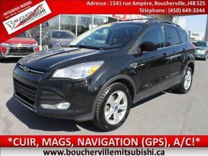 2013 Ford Escape SE*4x4, CUIR, NAVIGATION (GPS), A/C*