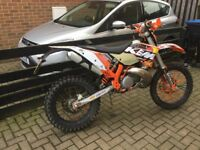 ktm 250 but registerd has 125
