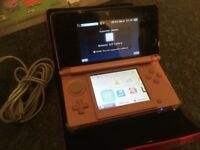 Nintendo 3DS Pink and Games