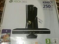 XBOX 360 KINECT SPECIAL EDITION WITH 25 GAMES AND ACCESSORIES ONLY £95