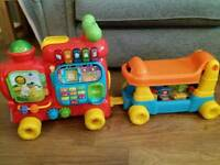 Vtech Learning & Ride On Train