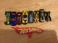 Hot Wheels and Marvel metal toy cars