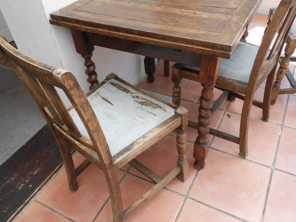 Dining table extending and 4 chairs for restoration in  : 86 from www.gumtree.com size 1024 x 768 jpeg 117kB