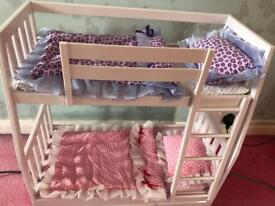 Dolls creation bunk bed