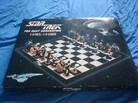 Star Trek The Next Generation 1999 Chess Set