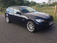 BMW 320d ES Tourer 2007 FSH Manual 139000m 18in M Sport Wheels and M Sport Seats