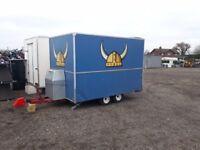 Clearance catering trailers Lpg Equipment setup Gas Griddle burco Fryer Bain marie Petrol Generator