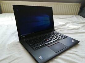 IBM Lenovo Thinkpad T450 Laptop, Windows10, 8gb RAM, Core i5-5300U, WIFI, 500gb HDD