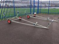 Boat launching trolley - large sailing dinghy