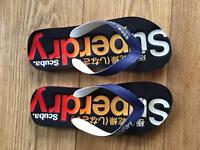 Superdry Flip Flops (Nearly New)