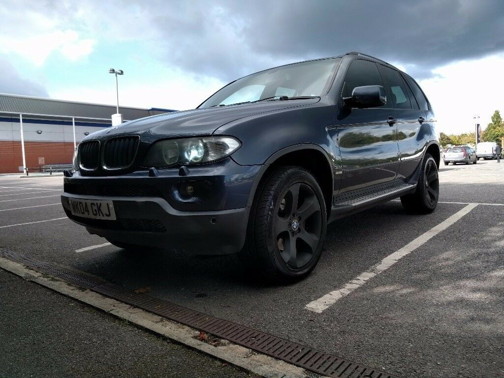 bmw x5 3 0d auto sport e53 2004 facelift sunroof leather seats new turbo in southall. Black Bedroom Furniture Sets. Home Design Ideas