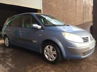 2005 RENAULT GRAND SCENIC DYNAMIQUE MPV, 7 SEATS, LOW MILEAGE, 11 MONTH MOT