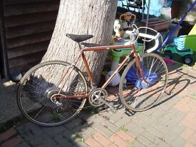 vintage elswick stag mens road bike