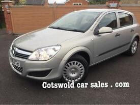 2009 Vauxhall Astra 1.4 life 5 door 38000 miles fsh 50 mpg inspected by the AA no reported faults!!