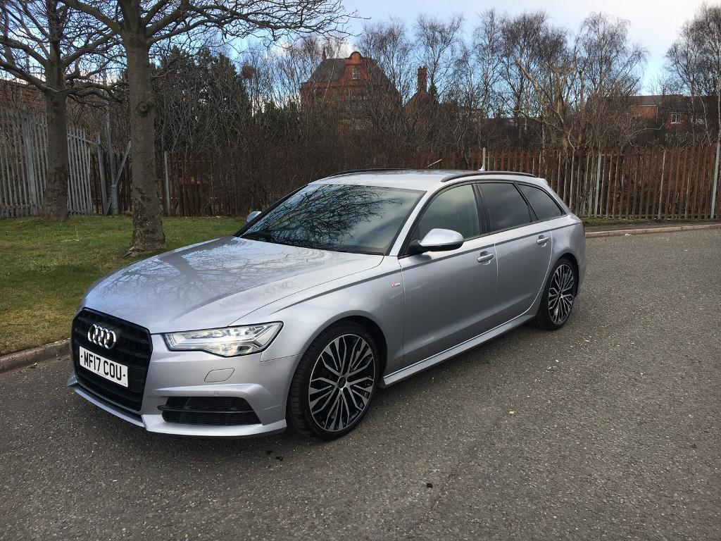 2017 17 Audi A6 S Line Black Edition Avant 2 0tdi Ultra 190 Ps Auto Est In Uk