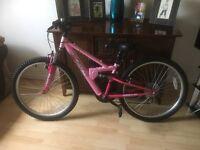"Apollo Girls Bike 24"" Wheels Suit 8-12 yr old"