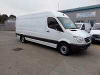 MERCEDES SPRINTER 313 cdi LWB H/ROOF 111200 MILES ONE OWNER
