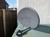 SKY SATELLITE DISH