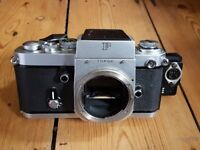 Nikon FM2A body with Oxberry Pin registered back, Very Rare!
