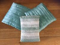 Mint Green Cushions (SOLD)