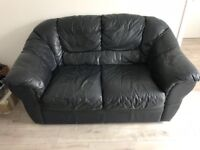 2 x 2 seater leather sofas. £30 for 1, £50 for both