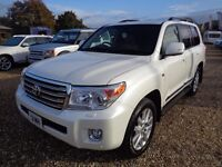 TOYOTA LAND CRUISER 4.5 D-4D 4x4 5dr (TPMS) Auto (white) 2015