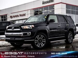 2016 Toyota 4Runner LIMITED 7 PASSENGER ONLY 33541 KMS!!