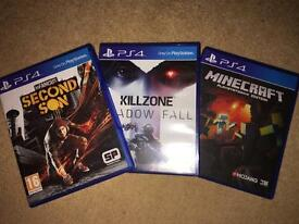 PlayStation 4 Game Bundle Set