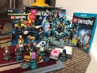 Lego dimensions starter set and extras for the wii u