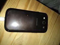 Samsung Galaxy S3 16gbyte bronze £65 OVNO