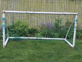 Samba Goals football goal 4 x 8 with net, bag and spares