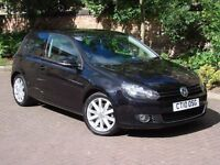 EXCELLENT EXAMPLE!! 2010 VOLKSWAGEN GOLF 1.4 TSI 160 GT 3dr, 6 SPEED ONLY 45000 MILES, FSH, WARRANTY