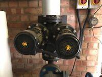 Grundlos heating water pump