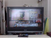 panasonic 32inch plasma tv with hdmi + remote