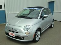 2012 Fiat 500C Lounge-LITTLE GEM-LOW KMS