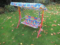Childrens two seater hammock - Ideal Xmas present for youngsters.