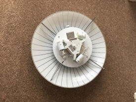 Ikea ceiling light, suitable for hallway, bedroom etc