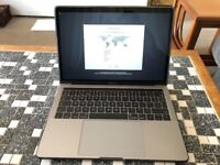 MacBook Pro 13 inch (2017) with Touch Bar, Space Grey, with 500GB Samsung T3 External SSD + USD Hub