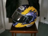 Shoei XV Duhamel Helmet - Black/Yellow/Purple