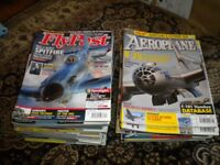Aeroplane and Fly Past classic aircraft aviation magazines