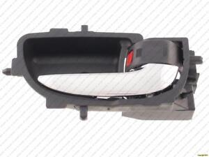 Door Handle Inner Front Passenger Side Sedan (Chrome Lever/Black Housing) Toyota Yaris 2006-2011